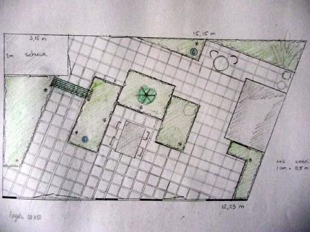 Voorkeur nogmaals advies tuinontwerp ondiepe brede tuin | Groeninfo.com #YE85