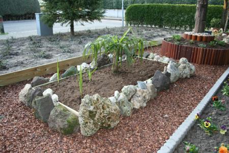 Eerste fotos van de tuin