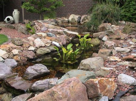 voorbeelden waterval/beekloop