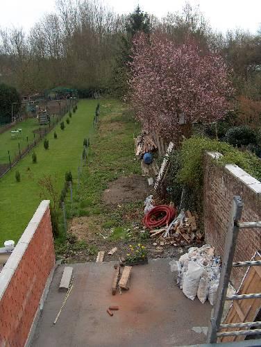 Hoe deel ik een EXTRALANGE tuin in??