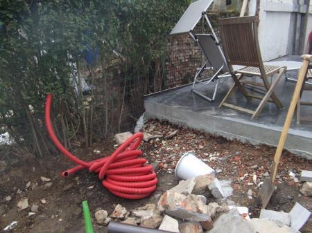 Advies tuin ophogen tegen terras