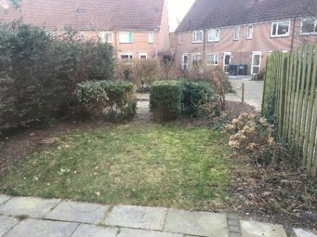 Eerste keer een eigen tuin